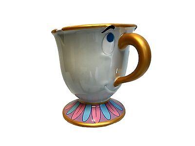 Disney Parks Beauty And The Beast Chip Ceramic Mug Disneyland New  Free Shipping