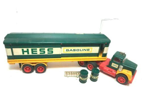 1976 Original Hess Gasoline Truck with Oil Barrels