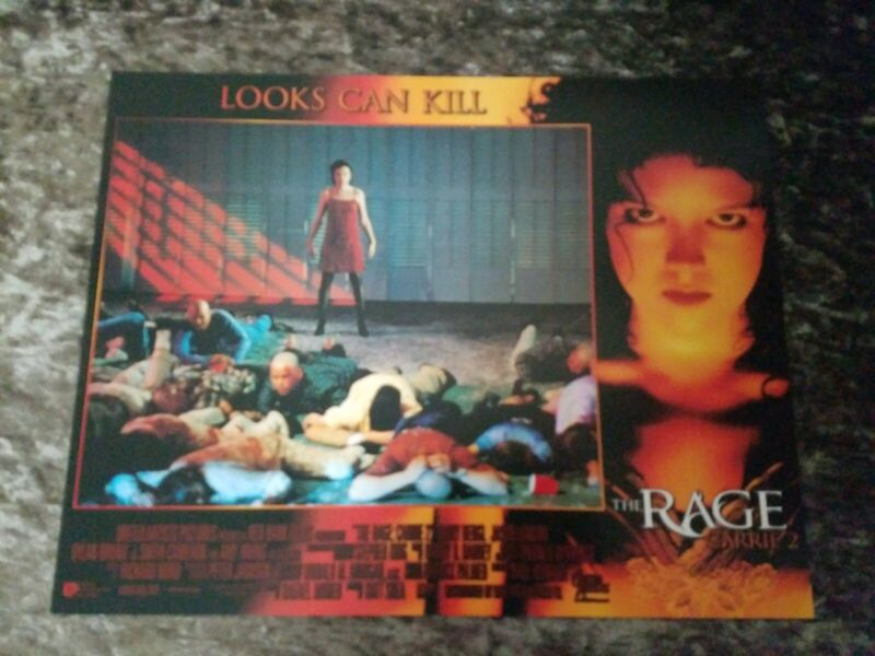 The Rage : Carrie 2 lobby cards - Emily Bergl, Jason London - Set of 8