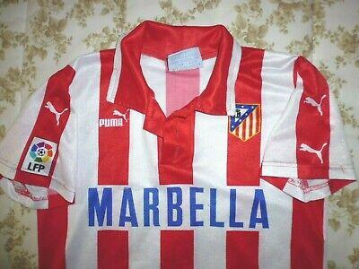 Camiseta ATLETICO MADRID temporada 1997-98 shirt maglia trikot futbol calderon image