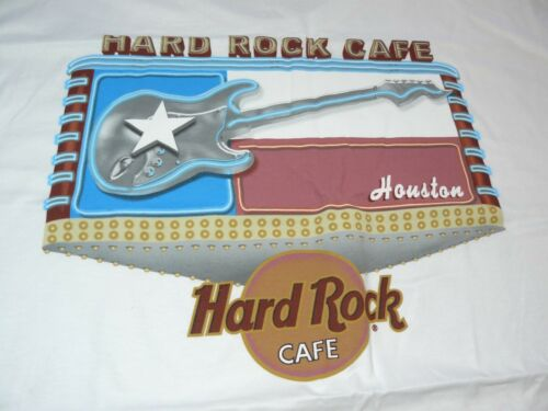 Hard Rock Cafe Houston City Tee T-Shirt New with Tags Size XL