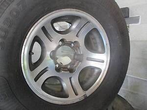 TOYOTA LAND CRUISER  80 SERIES WHEELS AND TYRES 275/70/16'S Thorneside Redland Area Preview