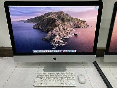 "Apple iMac 27"" 5K Retina 2014 1TB Fusion + 128GB SSD 16GB Ram 3.5GHz Core i5"