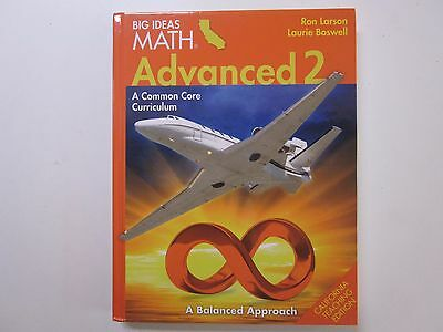 Big Ideas Math Advanced 2 Chapters 11 16 Common Core Ca Te 1608406814