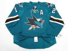 SAN JOSE SHARKS HOME ANY NAME / NUMBER TEAM ISSUED REEBOK EDGE 2.0 7287 JERSEY