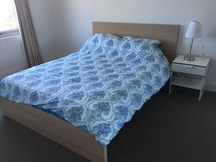 Bedframe and mattress