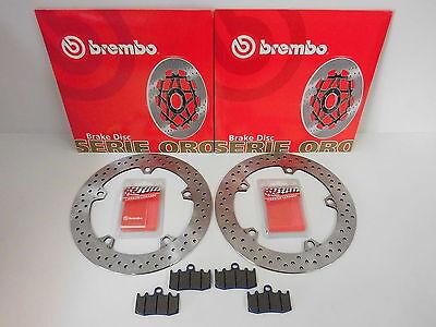 Brembo Bremsscheiben + Bremsbeläge org vorne BMW R 1150 GS / R 1200 GS, S, Adv