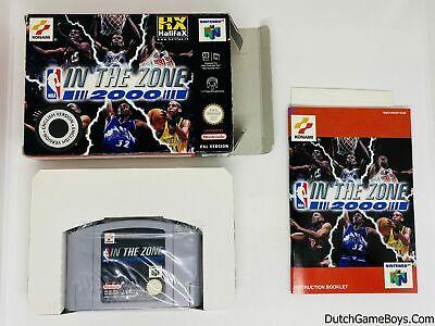 NBA In The Zone 2000 - EUR - EUR - Nintendo 64 - N64