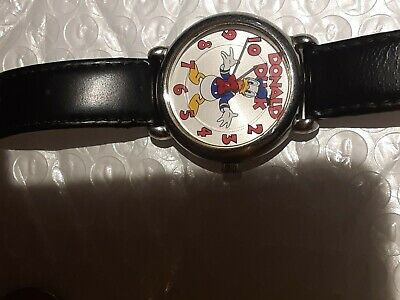 Vintage Donald Duck Watch SII Marketing International Exclusively Disney MU1067