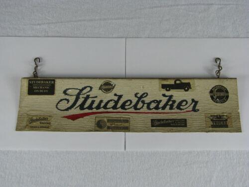 Vintage Very Interesting Homemade Studebaker Sign - Car & Truck Siding Item