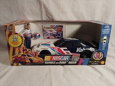 VINTAGE NASCAR RUMBLE AND ROAR RACER MARK MARTIN #6 VALVOLINE 1/18 SCALE 1997