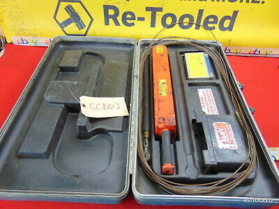 Spy 725 Holiday Detector Tester Pipe Pipeline Equipment W Case Batteries Tool