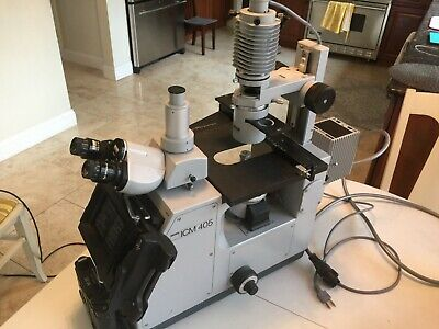 Zeiss Icm-405 Inverted Microscope