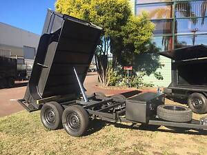 HYDRAULIC TIPPER 8X5 HI SIDE HEAVY DUTY 12 MONTHS PRIV REGO $5500 Liverpool Area Preview