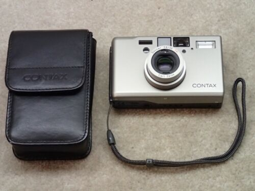 Contax T3 Film Camera Zeiss 35mm 2.8 Sonar T Single Tooth Nice but User Item