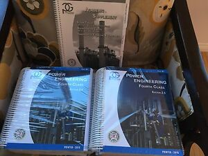 (Still in the plastic) 4th Class Power Engineering Books