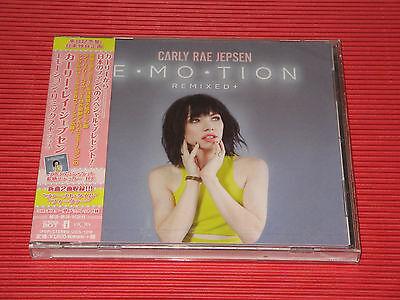 2016 Carly Rae Jepsen Emotion Remixed    Japan 10 Tracks Cd