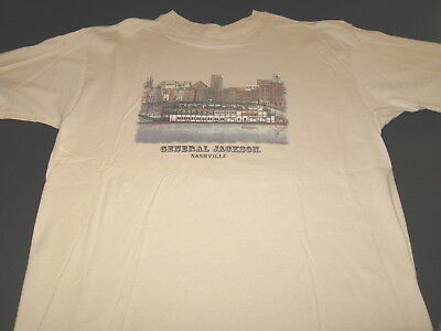 General Jackson Showboat Riverboat Opryland Nashville Tennessee T-Shirt - LARGE