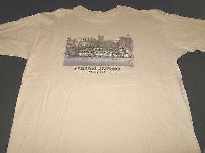 General Jackson Showboat Riverboat Opryland Nashville Tennessee T-Shirt - LARGE