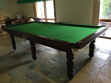 Billiard table Alcock Thomson and Taylor Greenvale Hume Area Preview