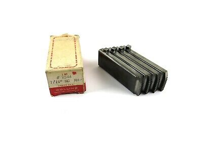 Rothenberger Collins 22a 2544 716 Nc Rh Pipe Threading Dies Set Of 4