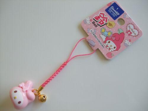 Sanrio My Melody Kawaii Mascot Strap with a Bell