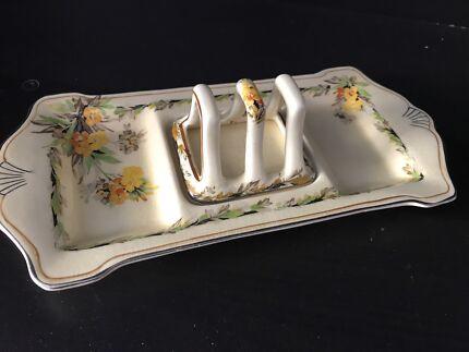 Royal Winton Grimwades - Elegance Bachelor Plate & Toast Rack