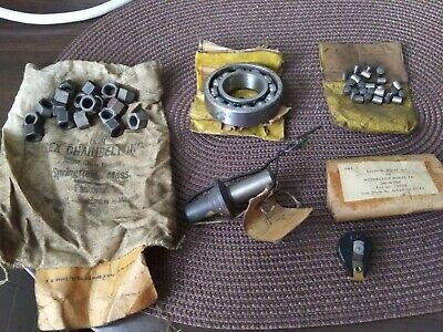 VINTAGE antique INDIAN motocycle MOTORCYCLE parts lot 741 breaker point kit