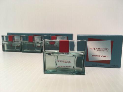 +Emanuel+Ungaro+Apparition+Homme+EDT+Vinatge+Miniature+5ml+New+%26+Boxed+For+Him