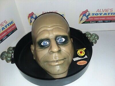 Gemmy Animated Sounds Butler Candy Dish Tray Uncle Fester Motion Life Size head
