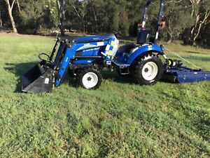 New Holland Tractor Glenorie The Hills District Preview