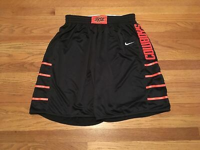 New Nike Men's L Oklahoma State Cowboys Basketball Fadeaway game shorts $60 - Oklahoma State Game