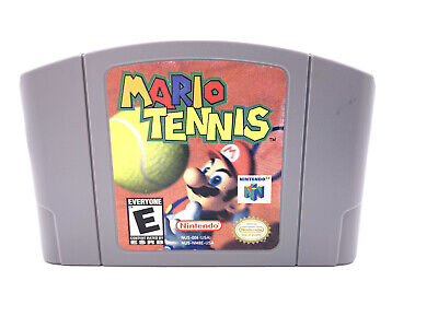 Mario Tennis Nintendo 64 N64 Authentic Game Cartridge Tested and Working