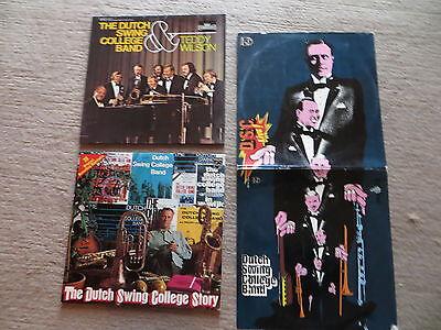 3 LP Schallplatte Sammlung The Dutch Swing College Band Story  Teddy Wilson Live