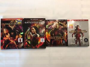The Hunger Games DVD & Blu-Ray Pack