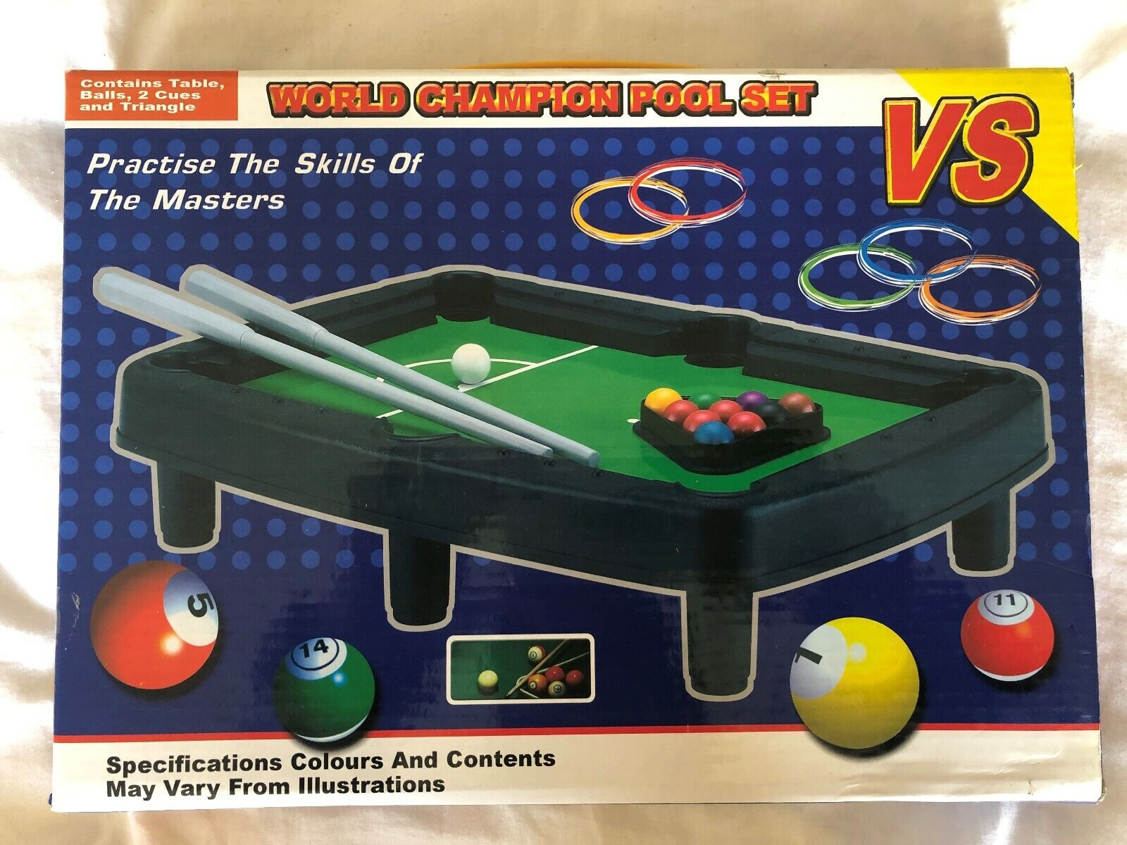 Mini snooker table game/gadget