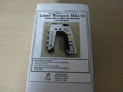 Space 1999 Laser Weapon MKI-II Model kit