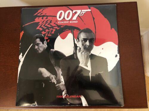 James Bond 007 Calendar 1999 Classic Bond - Sealed