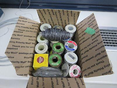 Vintage Solder Roll Lot