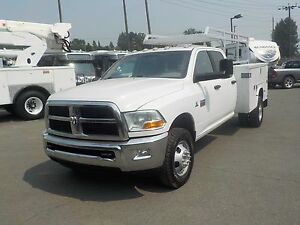 2012 Dodge Ram 3500 HD 4 Wheel Drive SLT Crew Cab Long Box Cummi