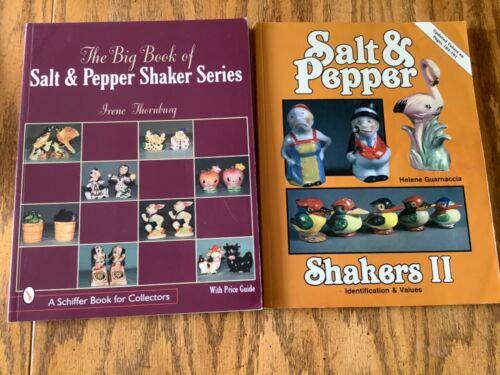 4 Books of Salt & Pepper Shakers Identification & Values Guarnaccia & Thornburg