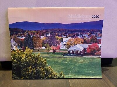 Middlebury College 2020 Colorful Photo Hanging -