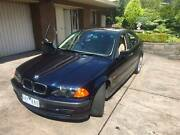 1999 BMW 318i E46 Sedan Navy Blue Auto   Low Springs   M3 Wheels Bulleen Manningham Area Preview