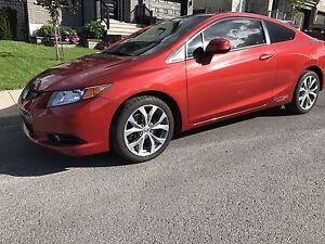 Honda Civic si 2012 tout équipe
