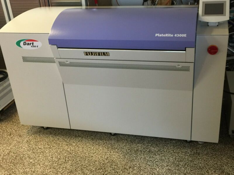 Screen Platerite 4300 CTP Platesetter YEAR 2015 & Harlequin Rip with TRAPPING