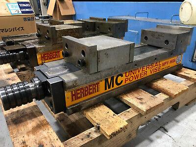Herbert Universal Power Open Type Vise 300mm Opening 160mm Mpv-160a Mpv160a