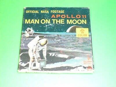 FILM SUPER 8   APOLLO 11  MAN ON THE MOON  official nasa footage  COLOR