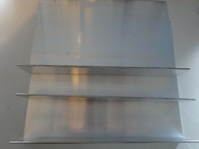 2 X 7 12 Aluminum Angle 18 Thick 12 In Length 3 Pieces