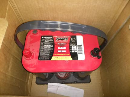 Optima AGM redtop 25 battery