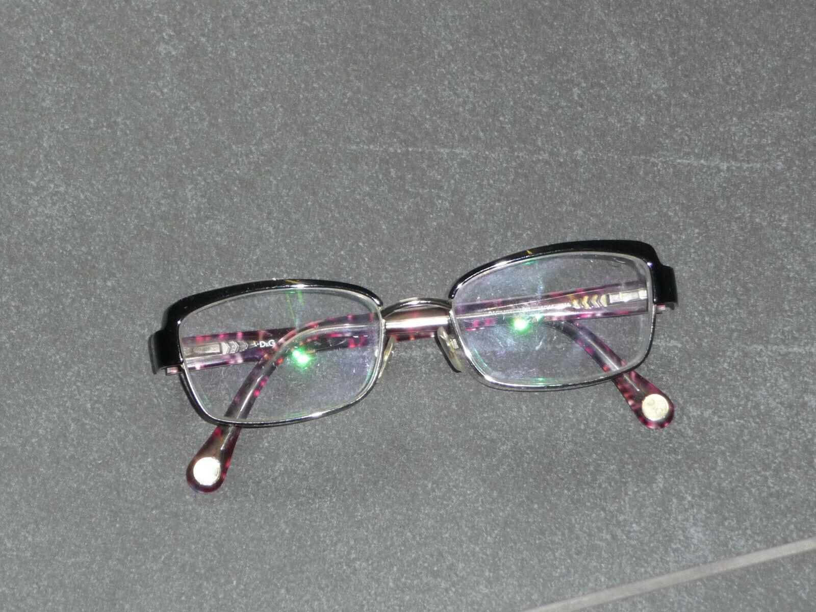 Brille Brillengestell von Dolce & Gabbana Gr.49 D&G L 102 1102
